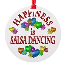 Happiness is Salsa Ornament