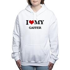 I love my Gaffer Women's Hooded Sweatshirt