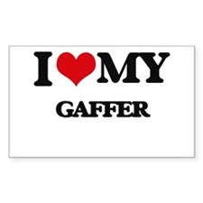 I love my Gaffer Decal