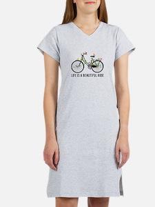 Life is a beautiful ride Women's Nightshirt