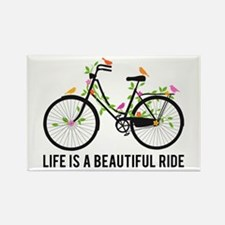 Life is a beautiful ride Magnets