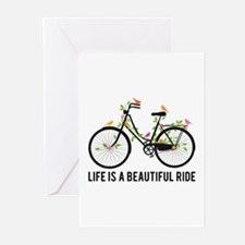 Life is a beautiful ride Greeting Cards
