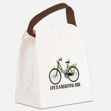 Life is a beautiful ride Canvas Lunch Bag