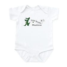 Happy Birthday Maximus (gator Infant Bodysuit
