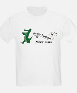 Happy Birthday Maximus (gator T-Shirt