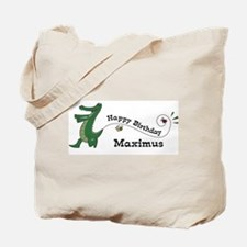 Happy Birthday Maximus (gator Tote Bag