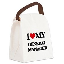 I love my General Manager Canvas Lunch Bag