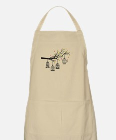 Birds and birdcages Apron