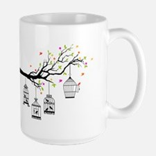 Birds and birdcages Mugs