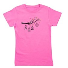 Birds and birdcages Girl's Tee
