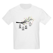 Birds and birdcages T-Shirt
