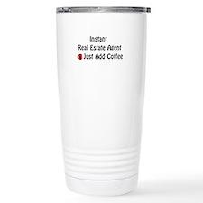 Cute Real estate Travel Mug