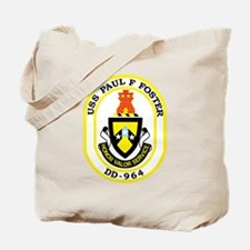 DD-964 USS PAUL F FOSTER Destroyer Ship M Tote Bag