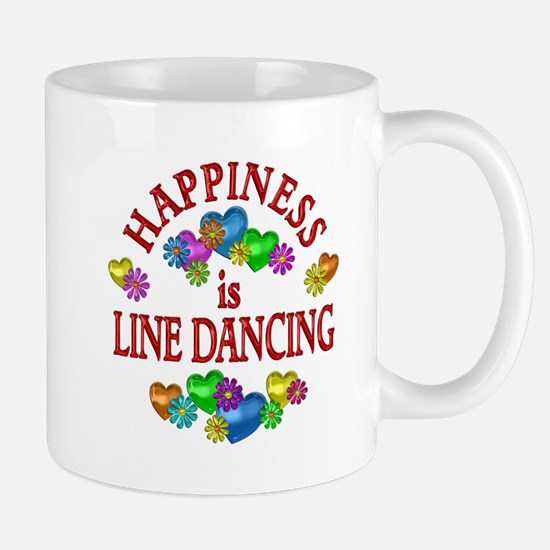 Happiness is Line Dancing Mug
