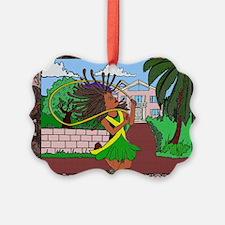 Jamaican Girl Ornament