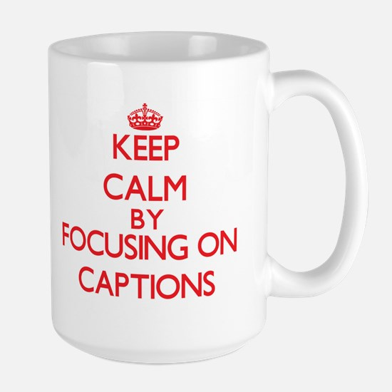 Captions Mugs