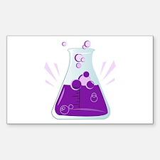 Chemistry Beaker Decal