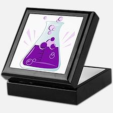 Chemistry Beaker Keepsake Box