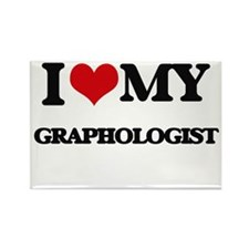 I love my Graphologist Magnets