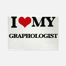 I love my Graphologist Magnets