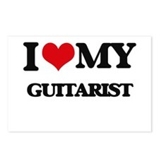 I love my Guitarist Postcards (Package of 8)