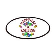 Happiness is Knitting Patches