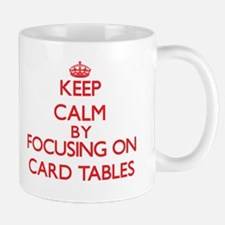 Card Tables Mugs