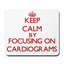 Cardiograms Mousepad