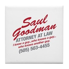 Breaking Bad - Saul Goodman Tile Coaster