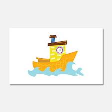 Tug Boat Car Magnet 20 x 12
