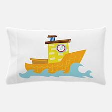 Tug Boat Pillow Case