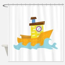 Tug Boat Shower Curtain