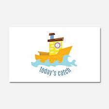 Todays Catch Car Magnet 20 x 12