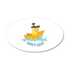 Todays Catch Wall Decal