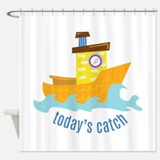 Todays Catch Shower Curtain