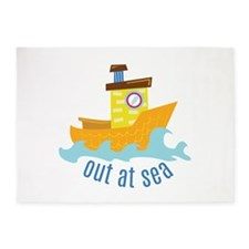 Out At Sea 5'x7'Area Rug