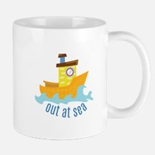 Out At Sea Mugs