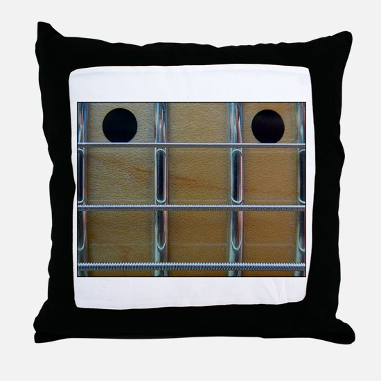 Fretboard Throw Pillow