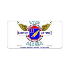 11TH ARMY AIR FORCE WORLD W Aluminum License Plate