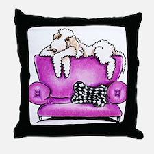 Sandy Bedlington Tiko Throw Pillow