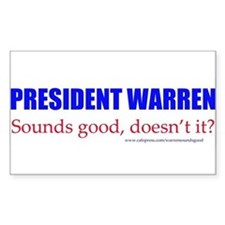 Warren Sounds Good Decal