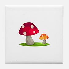 Mushrooms Tile Coaster