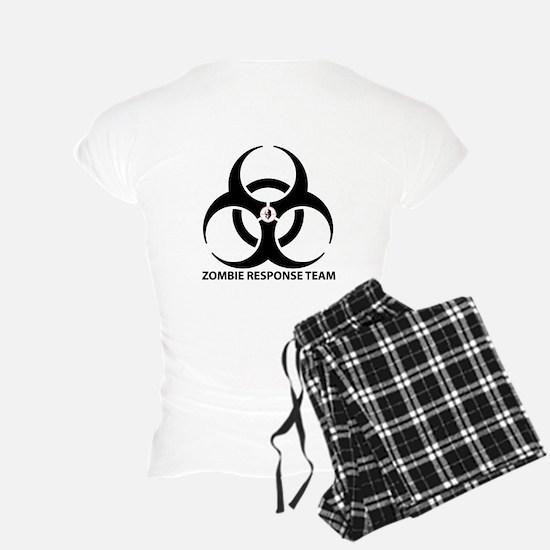 Zombie Response Team Front Pajamas