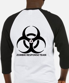 Zombie Response Team Front Baseball Jersey