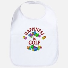 Happiness is Golf Bib