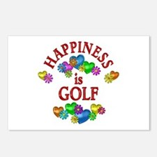 Happiness is Golf Postcards (Package of 8)