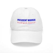 Warren Sounds Good Baseball Baseball Cap
