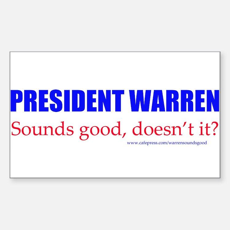 Warren Sounds Good Decal