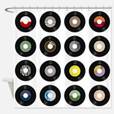 Records Shower Curtain