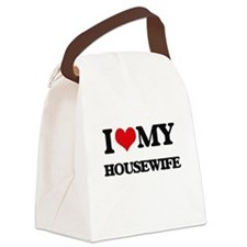 I love my Housewife Canvas Lunch Bag